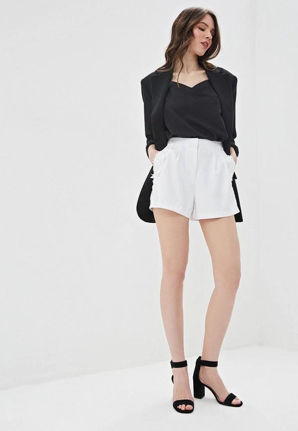 Фото 2 - Женские шорты Love Republic белого цвета