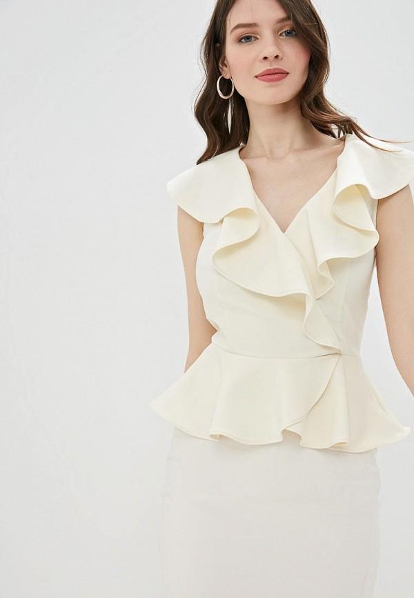 Фото - Женскую блузку Love Republic бежевого цвета