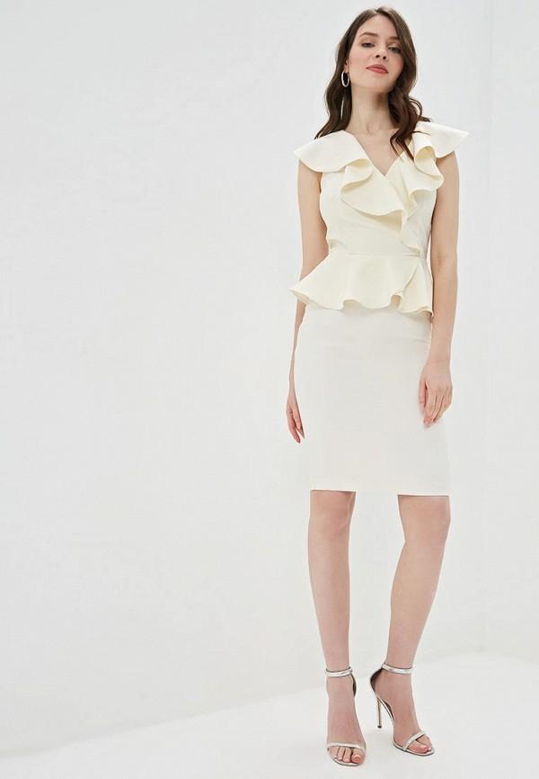 Фото 2 - Женскую блузку Love Republic бежевого цвета