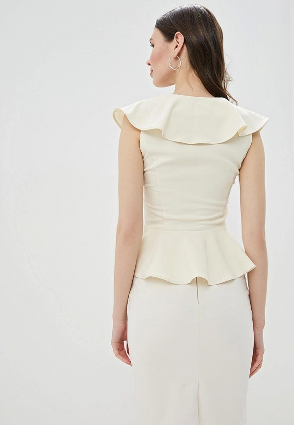 Фото 3 - Женскую блузку Love Republic бежевого цвета