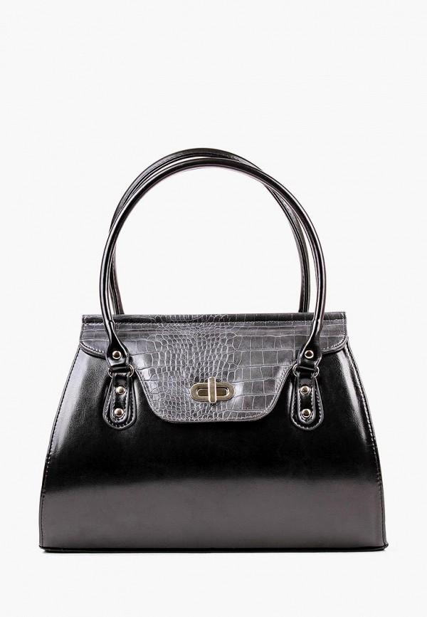 женская сумка медведково, черная