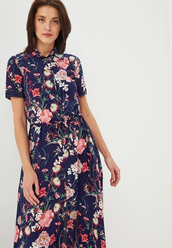Фото 2 - Женское платье Alina Assi синего цвета