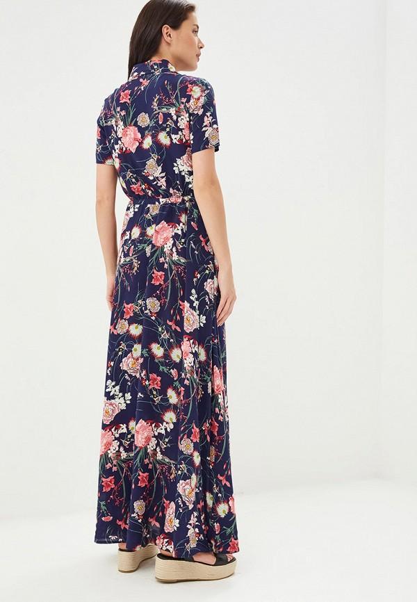 Фото 3 - Женское платье Alina Assi синего цвета