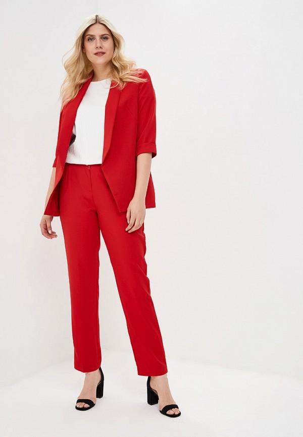 женский костюм bordo, красный