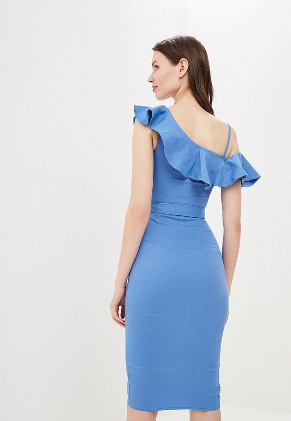 Платье Avemod цвет голубой  Фото 3