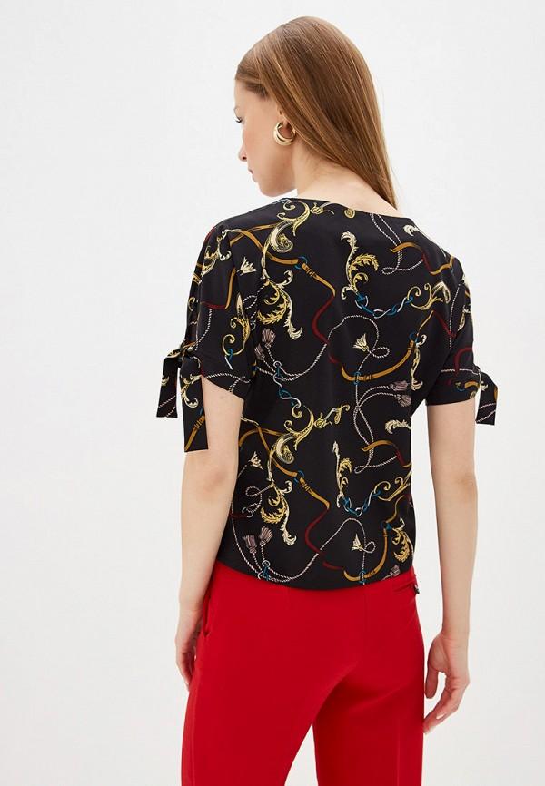 Фото 3 - Блузу shovsvaro черного цвета