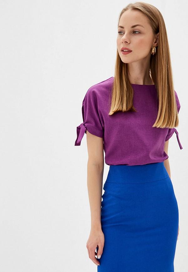 Фото - Блузу shovsvaro фиолетового цвета