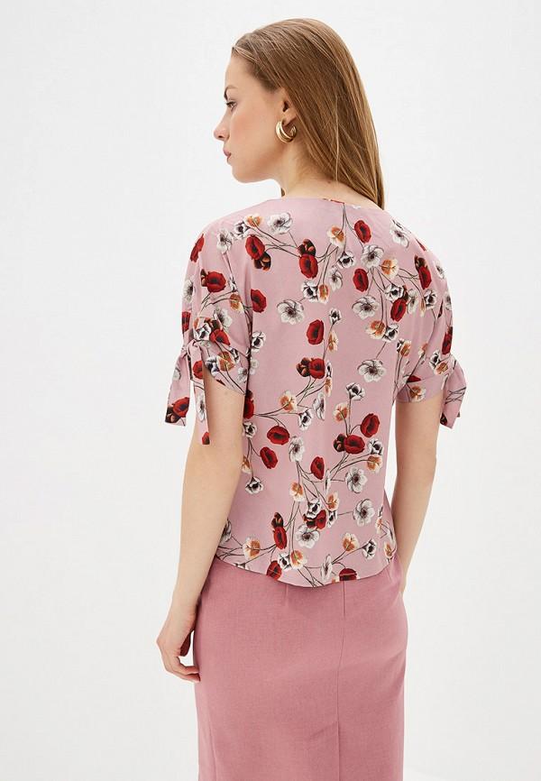 Фото 3 - Блузу shovsvaro розового цвета