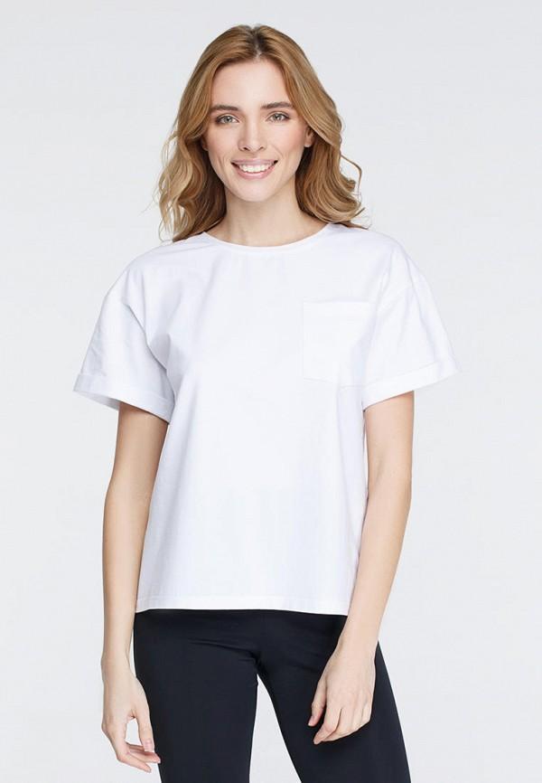 женская футболка musthave, белая