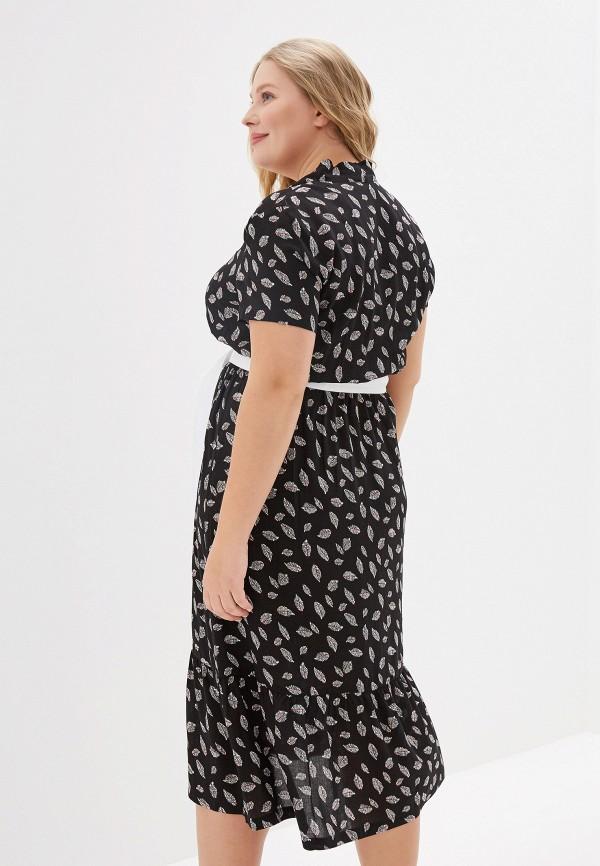 Платье Eliseeva Olesya цвет черный  Фото 3