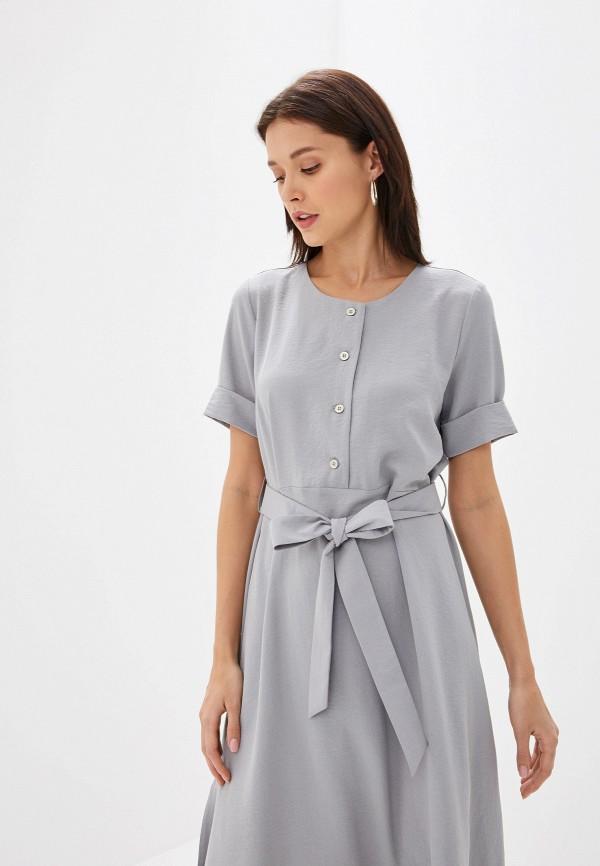 Платье Eliseeva Olesya цвет серый  Фото 2