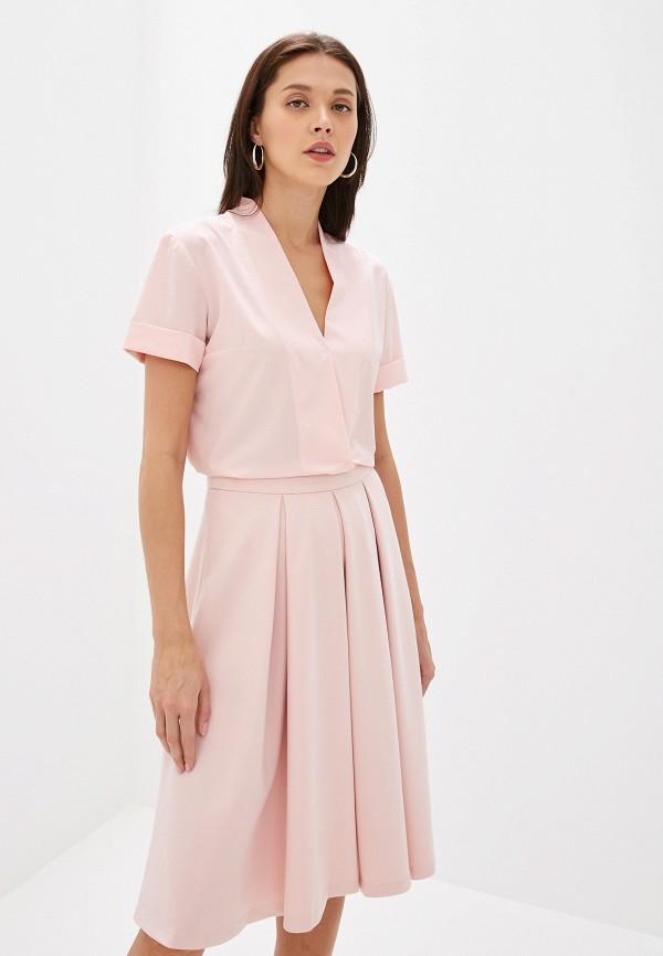Блуза Eliseeva Olesya цвет розовый