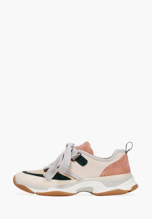 женские кроссовки emmelie delage, бежевые