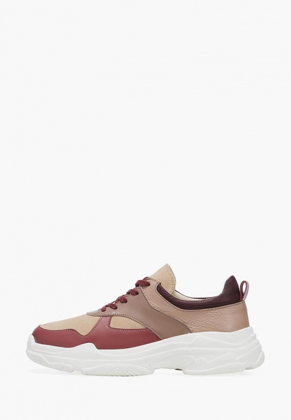 женские кроссовки emmelie delage, коричневые