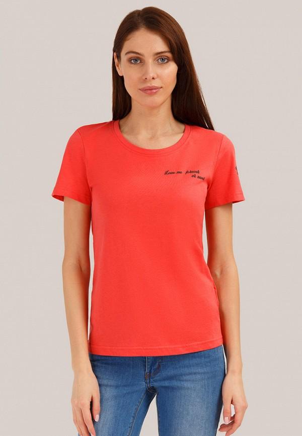 Футболка Finn Flare Finn Flare MP002XW01T9U блузка женская finn flare цвет красный b18 32071 317 размер xl 50