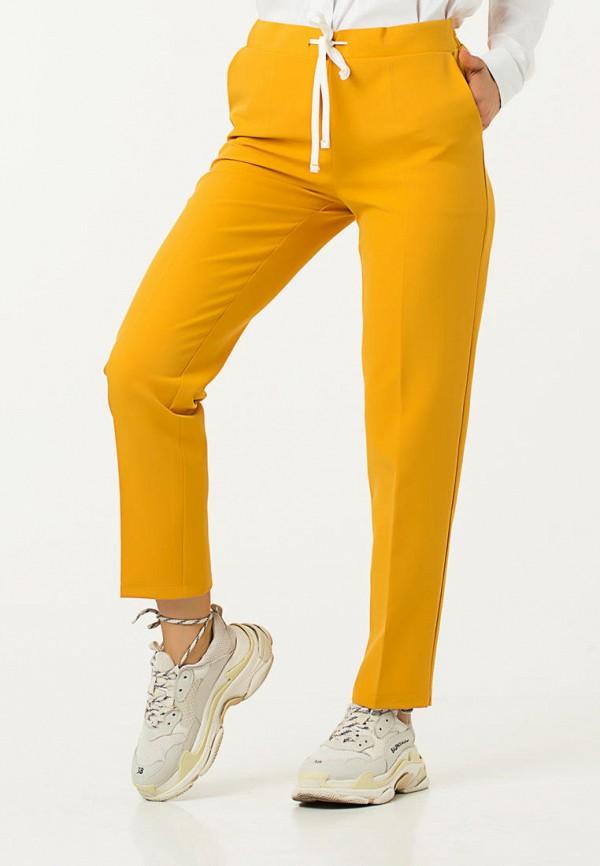 женские повседневные брюки lilove, желтые