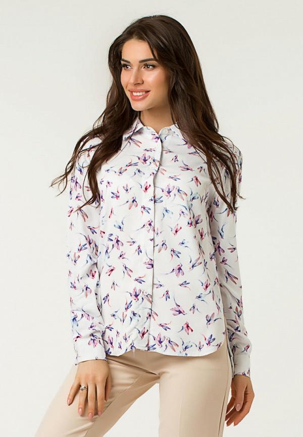 женская рубашка с длинным рукавом lilove, белая