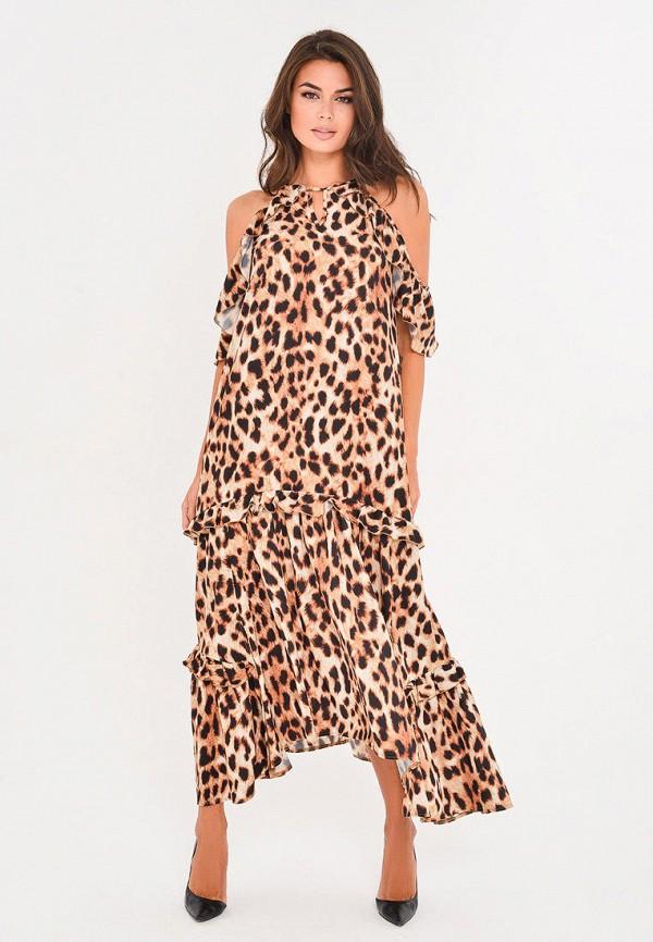 Платье Mondigo цвет коричневый  Фото 3