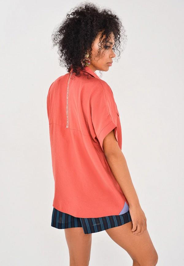 Рубашка Mondigo цвет коралловый  Фото 3