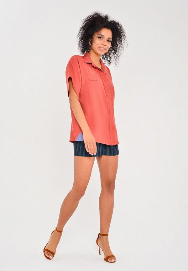 Рубашка Mondigo цвет коралловый  Фото 2