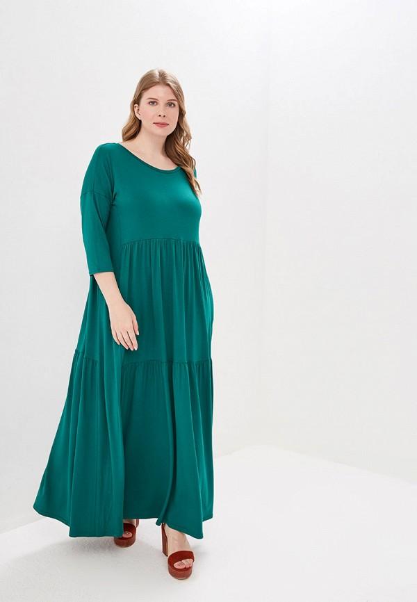 Фото - Женское платье Chic de Femme зеленого цвета
