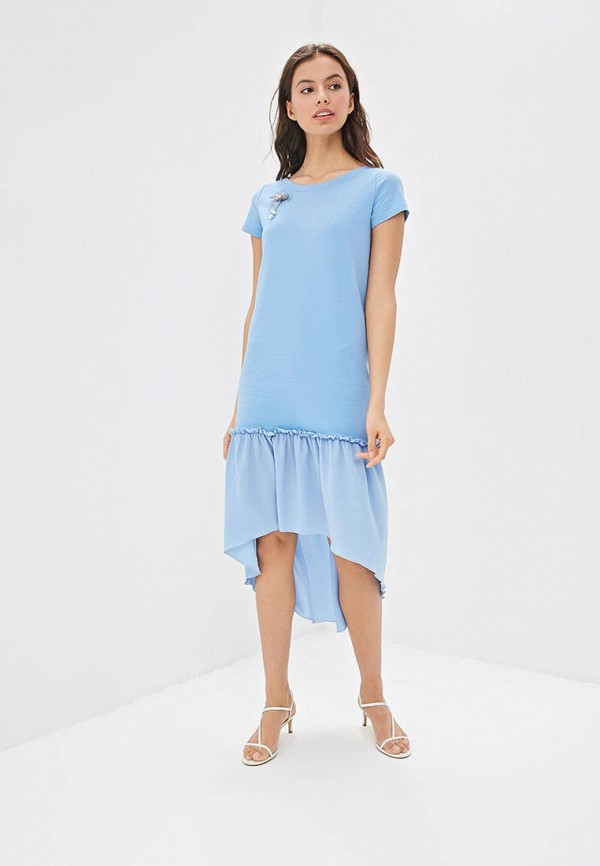 Фото - Платье Fashion.Love.Story голубого цвета