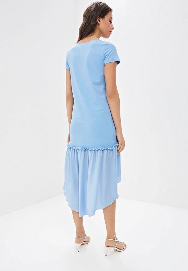 Фото 3 - Платье Fashion.Love.Story голубого цвета