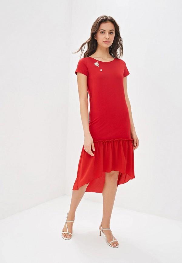 Платье Fashion.Love.Story цвет красный