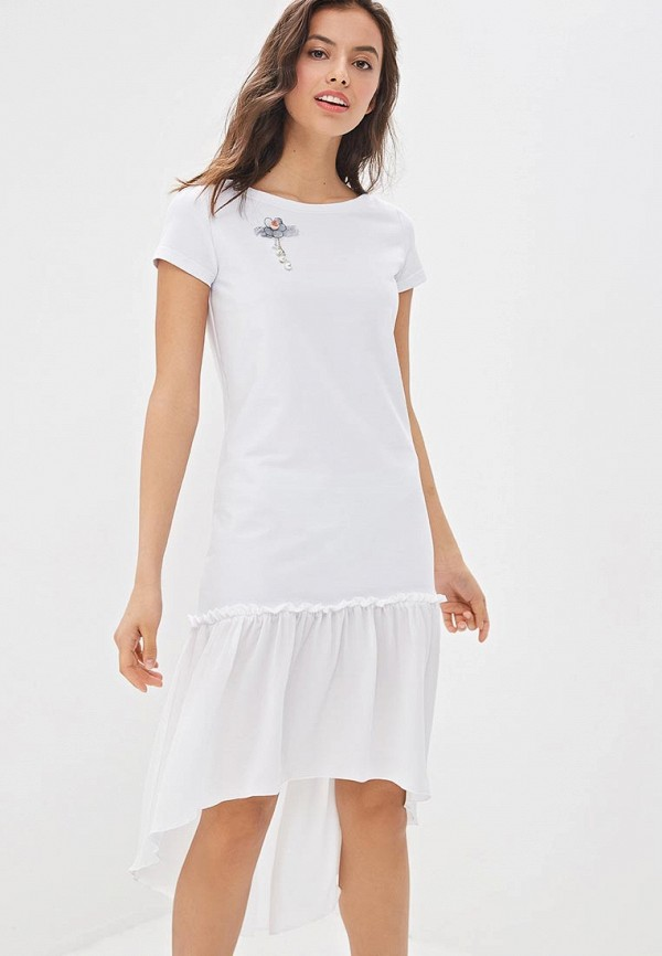 Платье Fashion.Love.Story цвет белый  Фото 2