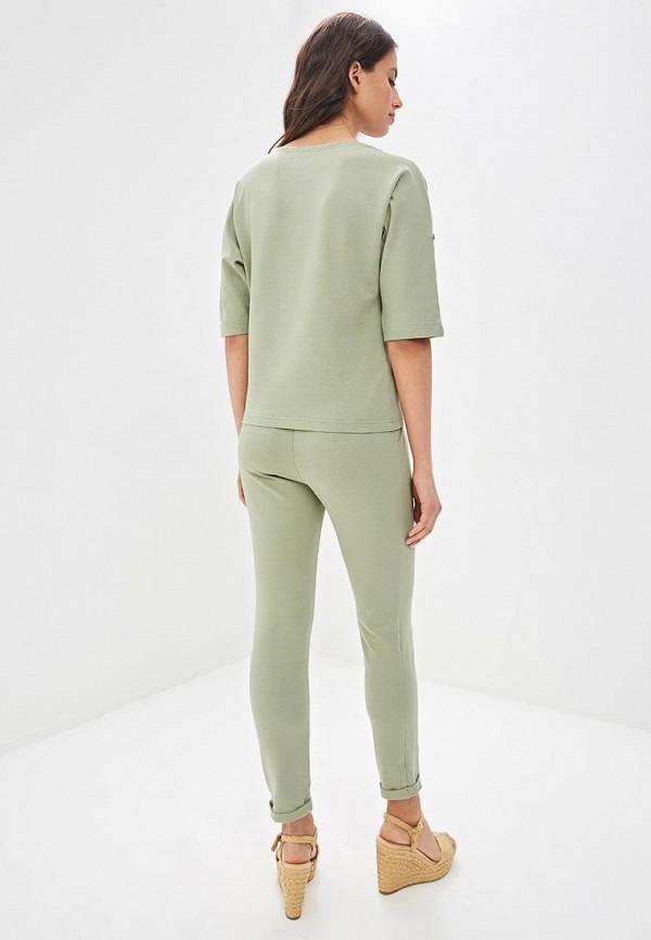 Фото 3 - Костюм спортивный Fashion.Love.Story зеленого цвета
