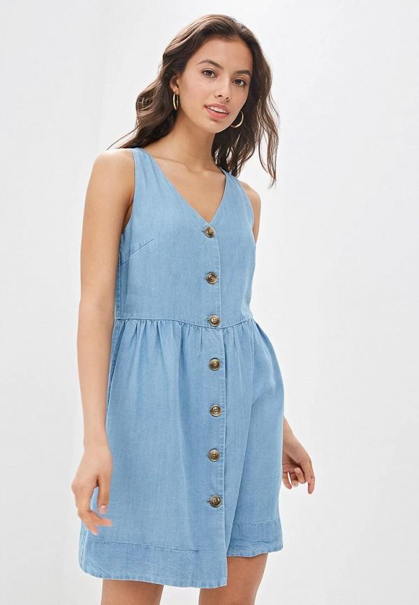 Платье джинсовое Befree Befree MP002XW01TOG