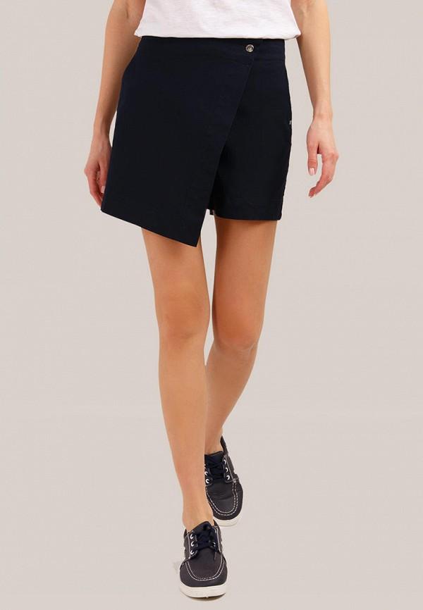 женские повседневные шорты finn flare, синие