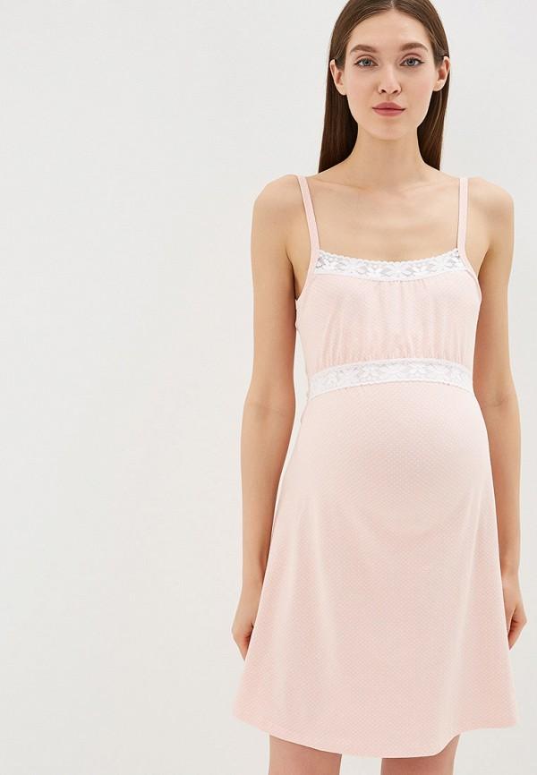 Сорочка ночная Hunny mammy Hunny mammy MP002XW01TQA комплект для беременных и кормящих hunny mammy халат сорочка ночная цвет розовый серый 1 нмк 07720 размер 46