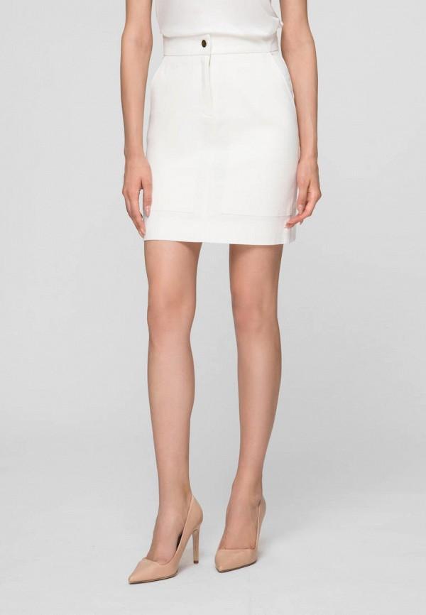 женская прямые юбка minimally, белая