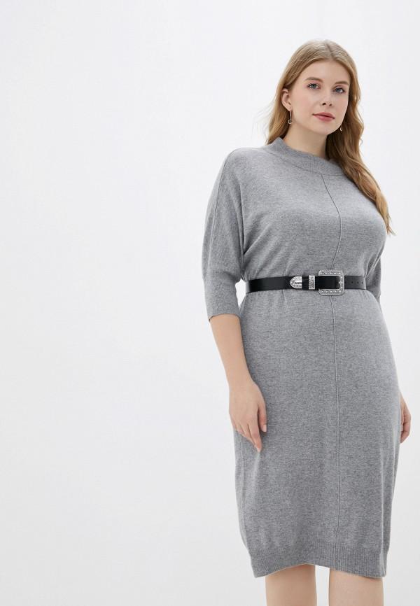 женское платье averi, серое