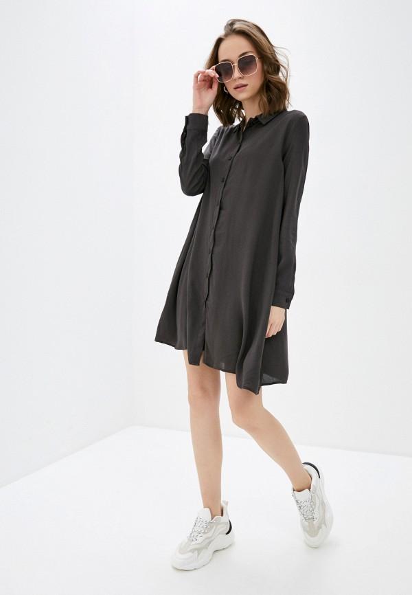 Фото 2 - Женское платье Befree цвета хаки