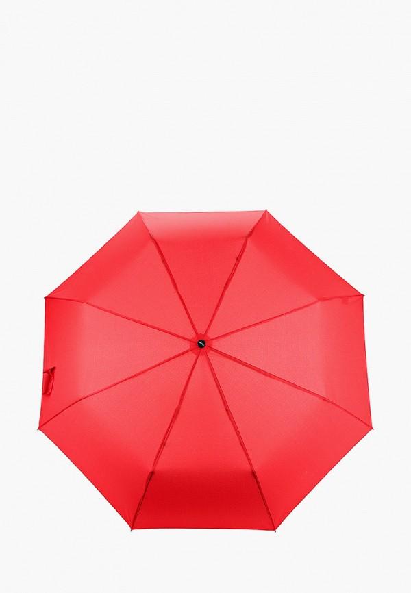 женский складные зонт doppler, красный