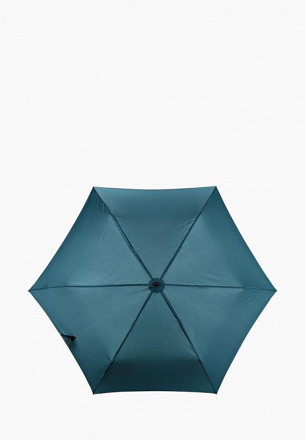 женский складные зонт doppler, зеленый