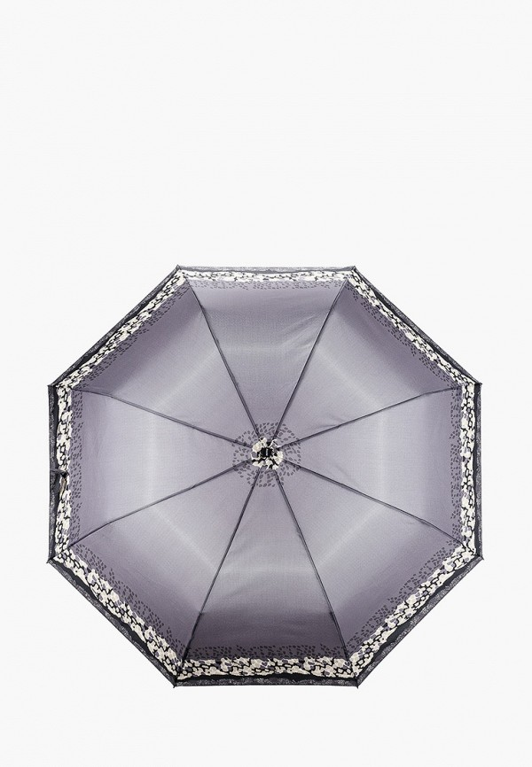 женский складные зонт doppler, серый