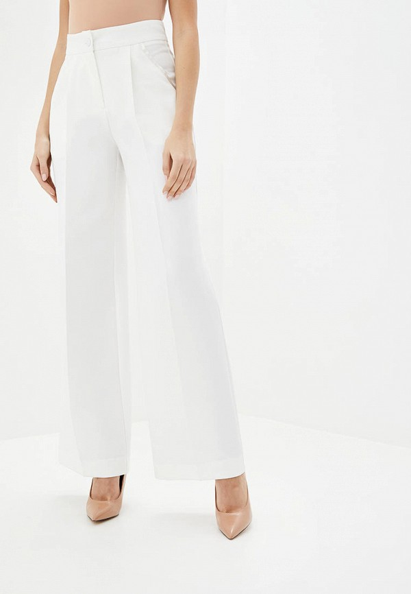 женские повседневные брюки jhiva, белые