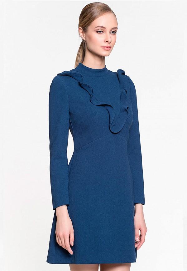 женское повседневные платье genevie, синее