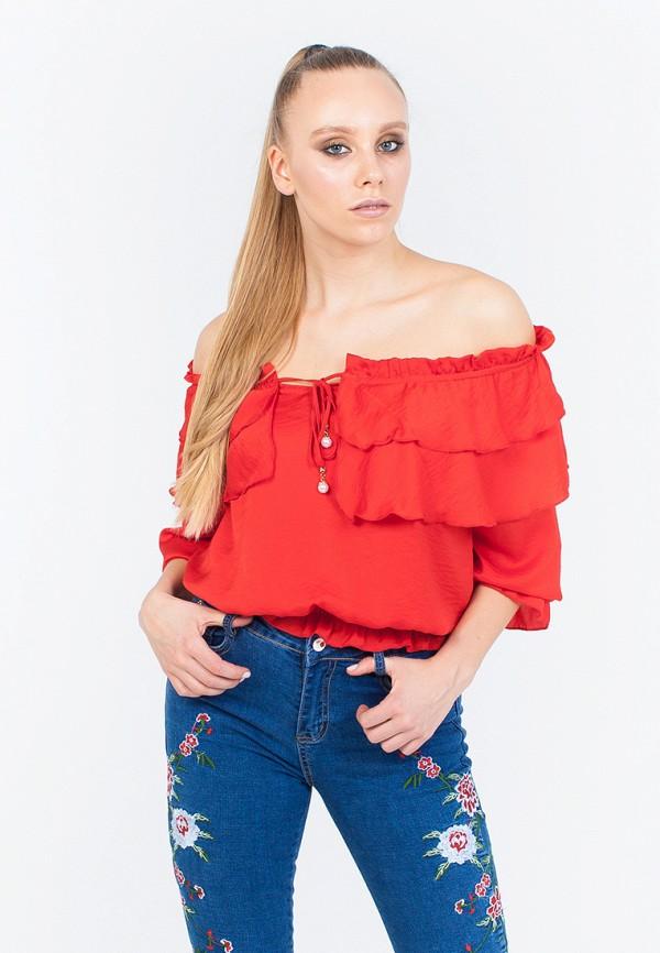 Блуза Marissimo, mp002xw01wbv, красный, Осень-зима 2017/2018  - купить со скидкой
