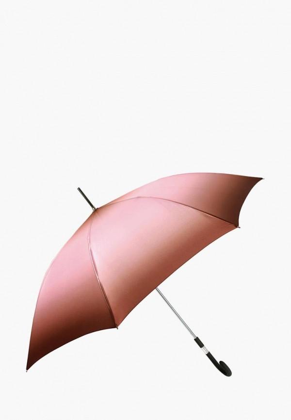 женский зонт-трости vogue, розовый