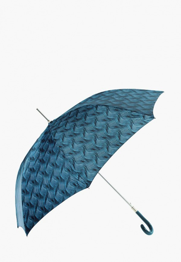 женский зонт-трости vogue, бирюзовый