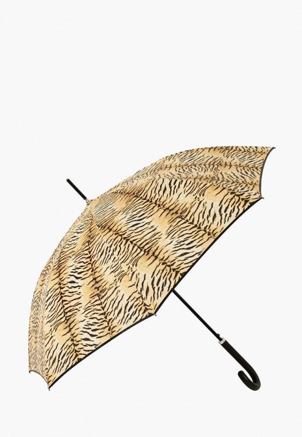 женский зонт-трости vogue, коричневый