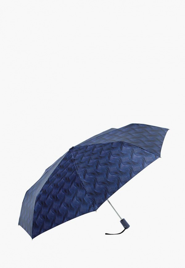 женский складные зонт vogue, синий
