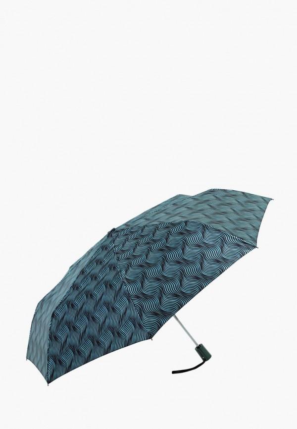 женский складные зонт vogue, бирюзовый