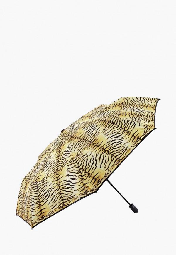 женский складные зонт vogue, коричневый