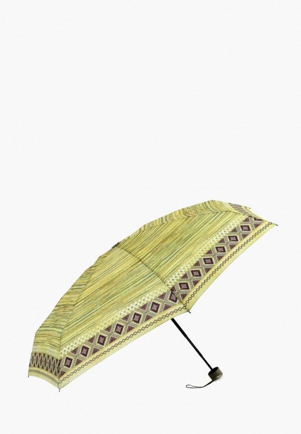 женский складные зонт vogue, зеленый