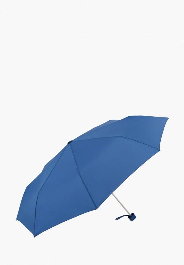 женский складные зонт vogue, голубой